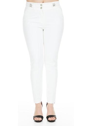 Modailgi Pantolon Beyaz